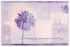 Inspired Art Anniversary Postcard