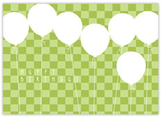 Green Balloon Bonanza Birthday