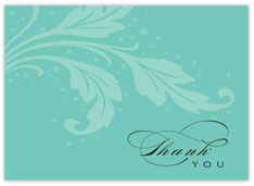 Basic Words Thank You Card
