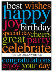 Big Wishes Birthday Card