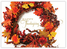Bountiful Thanksgiving Wreath