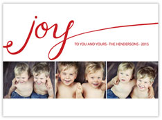 Your Joy Photo Card