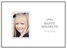 Simple Gray Holiday Laurels