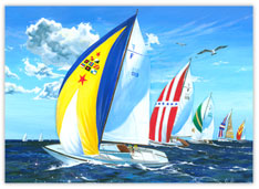Sailing Seasons Greetings