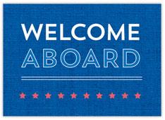 Nautical Welcome Aboard