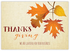Golden Leaves Thanksgiving