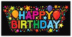 Confetti Explosion Birthday Card
