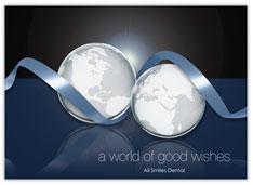 Around the Globe Holiday Card