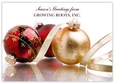 Company Close-up Holiday Card