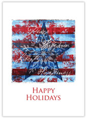 American Holiday Card