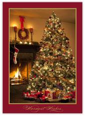 Warm Glow Holiday Card