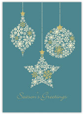 Snowflake Success Holiday Card