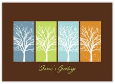 Bright Sky Holiday Card