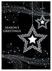 Charming Stars Holiday Card