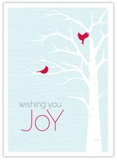 Wishing You Joy Holiday Card