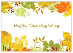 Happy Hues Thanksgiving Card