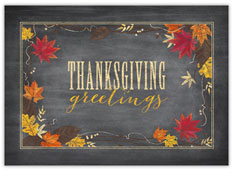 Thanksgiving Greetings Card