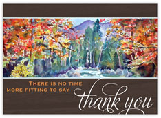 Painted Fall Thank You