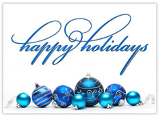 Beautiful Blue Ornaments