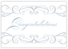 Flourish Congratulations Card