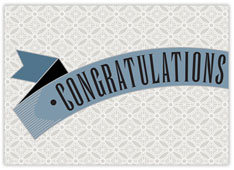 Geometric Congratulations Card