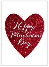 Valentine Glitz