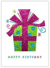 Glistening Birthday Gift