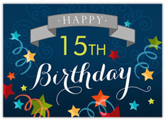 Birthday Milestone Banner