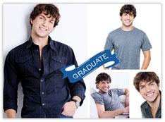 Blue Graduate Banner