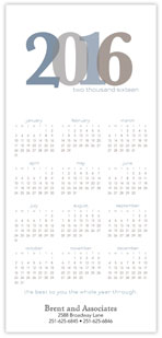 2016 Year in Color Calendar