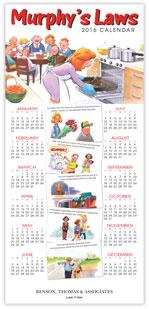 2016 Murphy's Law Calendar Card