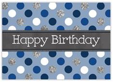 Dotty Blue Birthday