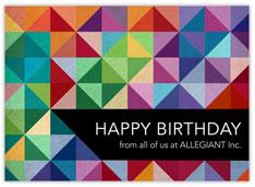 Rainbow Prismatic Birthday