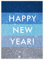 Shades of Blue New Year
