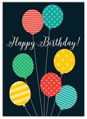 Bursting Birthday Balloons
