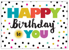 Spots & Dots Birthday