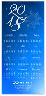 Azure Snowflake Calendar