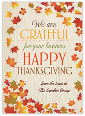 Grateful Leaves of Thanks