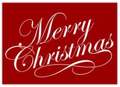 Basic Merry Christmas Card