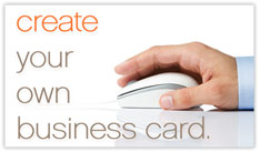 Custom Horizontal Business Card