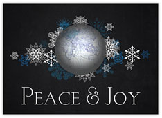 Snowflakes Peace & Joy