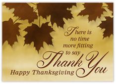 Happy Thanksgiving Thank You