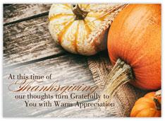 Rustic Pumpkins Thanksgiving