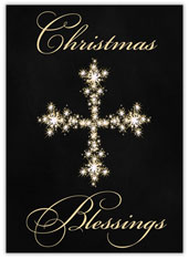 Sparkly Christmas Blessings
