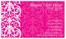 Elegant Pink Lace