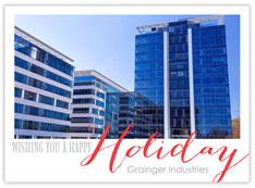Holiday Dots Photo Card