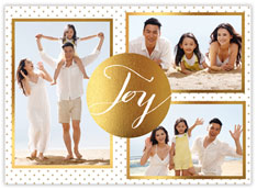 Golden Holiday Joy