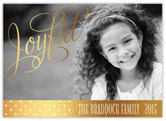 Golden Joy Photo Card