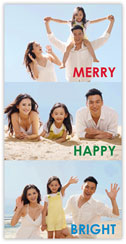 Holiday Photo Triptych