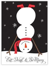 Crazy, Merry Snowman